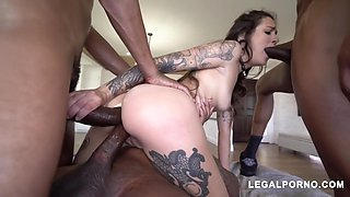 Charlie Macc, Isiah Maxwell And Rico Strong In Drilled Hardcore With By