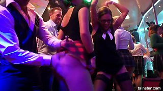 Drunk Sex Party In The Crazy Czech Night Club