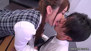Yui Hatano In Japanese Office Lady Is Naughty Uncensored
