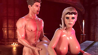3D Animated Anal Sex #1