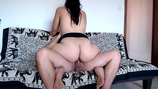 Big Ass Amateur Teen Stepsis Riding So Hard My Cock, Amazing Experience!!