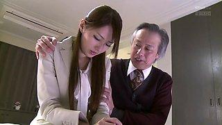 Horny Japanese Whore In Amazing Milf, Wife Jav Scene