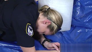 Bad police MILFs deserve brutal doggy style interracial