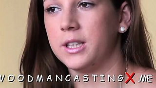 Pretty lady suggests her anal for eager nailing at a casting