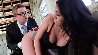 Big titted Julia de Lucia loves fucking hard and fast