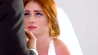 Hot Bride Lennox Luxe Blows Well Hung Best Man