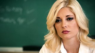 Headstrong milf seduced by lesbian teacher