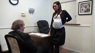 Pregnant Realtor Assfucked