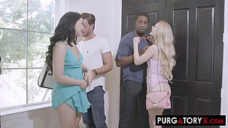 Whitney Wright and Lucas had so much fun with their threesomes