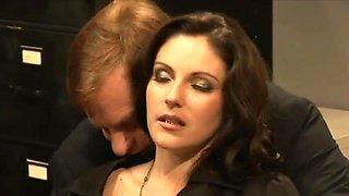 Samantha Ryan drilled by her boss