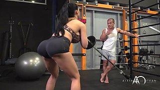Aletta gym sex