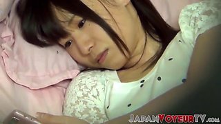Little japanese orgasms during private pussy satisfaction