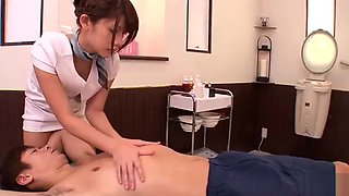 Hot Japanese Nina in amazing massage porn video