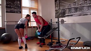 Amirah Adara gets fucked in the gym every time she goes there and enjoys it