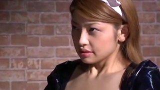Crazy Japanese slut in Fabulous Lingerie, Fetish JAV video