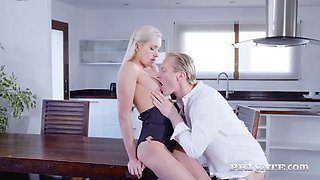 Private.com young blonde angelika grays gets anal fucked!