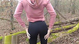 Forest Running, Anal Fucking, Public Cumming