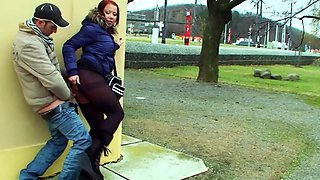 Crazy Public Sex in the City by Young Dirty Teen Couple