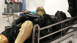 Medical latex treatment for a rubber patient