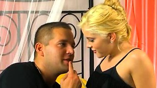 Wanton blonde barely legal diva Lala Princess gets hard fuck