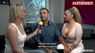Big Tits German Pornstar Dana Jayn Fucks A Lucky Mature Fan