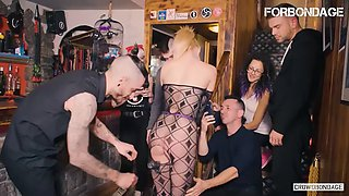 ForBondage #Helena Valentine Kinky Hungarian Babe Goes Wild In Rough BDSM Sex Session