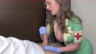Sexy Nurse T Lends a Helping Hand