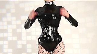latex fetish Flexible Girl