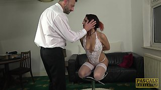 Cat Collar gets her booty destroyed and tight pussy drilled deep