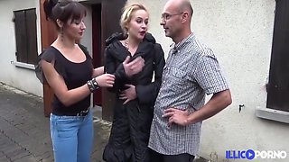 Skinny Bitch And Vera Delight - Skinny French Slut Morgane Gets Assfucked And Pegged