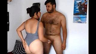 AMATEUR COUPLE HAVING FUN
