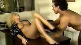 Big haired blonde gets fucked - Classic X Collection