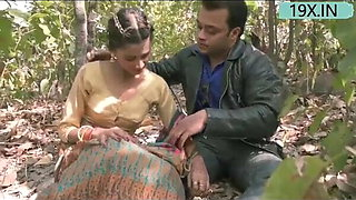 Indian Hot Poor Bhabi Fucked For Money In Jungle