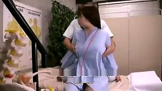 Japanese housewife fucked in massage room 2