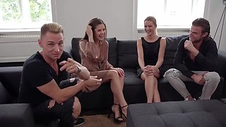 Cherry Kiss, Little Caprice And Vince Karter - Swingers Enjoy A Cool Group Sex And Get A Real Thrill