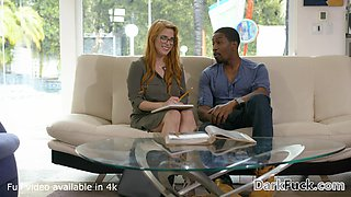 Lucky Black Guy gets to Plow Beautiful Redhead