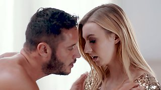Glamorous babe Alexa Grace gets intimate with handsome guy Danny after party