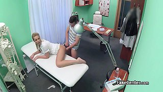 Stud caught cheating his gal with nurse