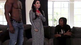 BBC Slut Joanna Angel Enjoys Interracial Gangbang And DP