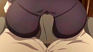 Creampie, hentai, tits