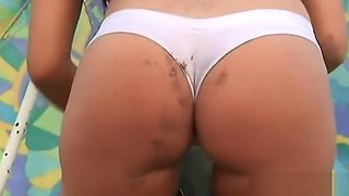 Dripping Wet Camel-toe Slut