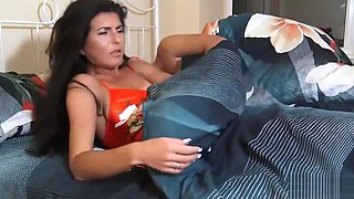 Limp Fetish Son fuck Sleep Mommy