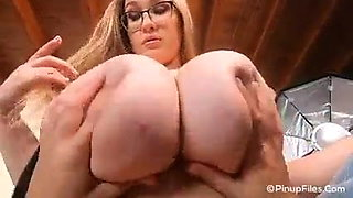 Who loves touching and fondling big breasts?
