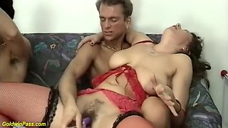 Real German With Hairy Curvy Moms