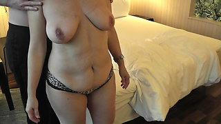 Hubby watch how lover fuck his wife