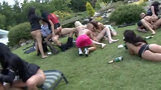 Swimming Pool Sex Party two!