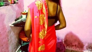 Indian bhabhi has hard sex with boyfriend. Fun with boobs