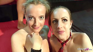 Victoria Pure In Skinny Girl At Creampie Gangbang Party German