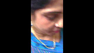 Indian MILF fingered by colleague in office in restroom