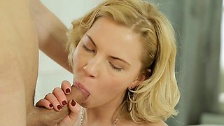 Luxurious russian Angie Koks gets fucking surprise